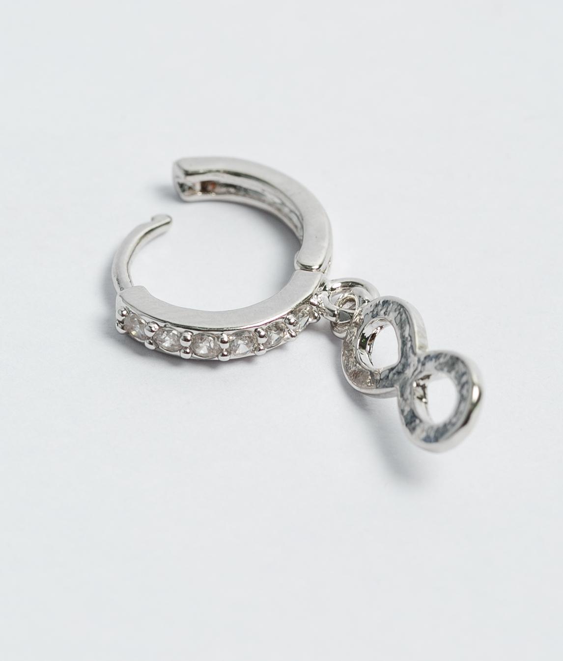 Earrings Rinber - Silver