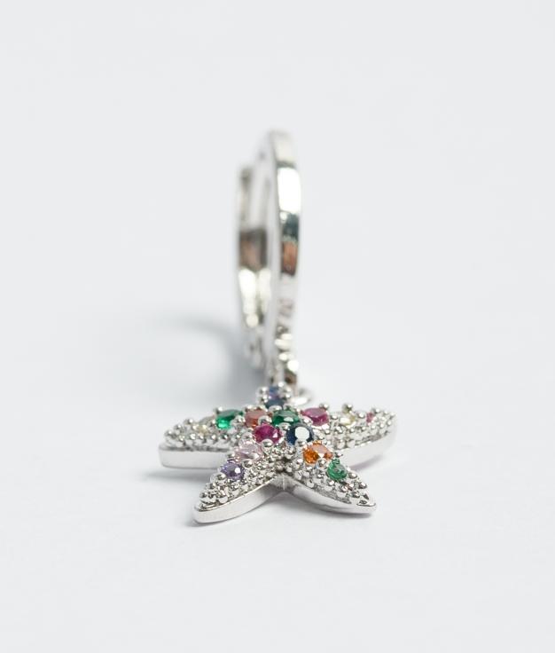 Earrings Lupim - Silver