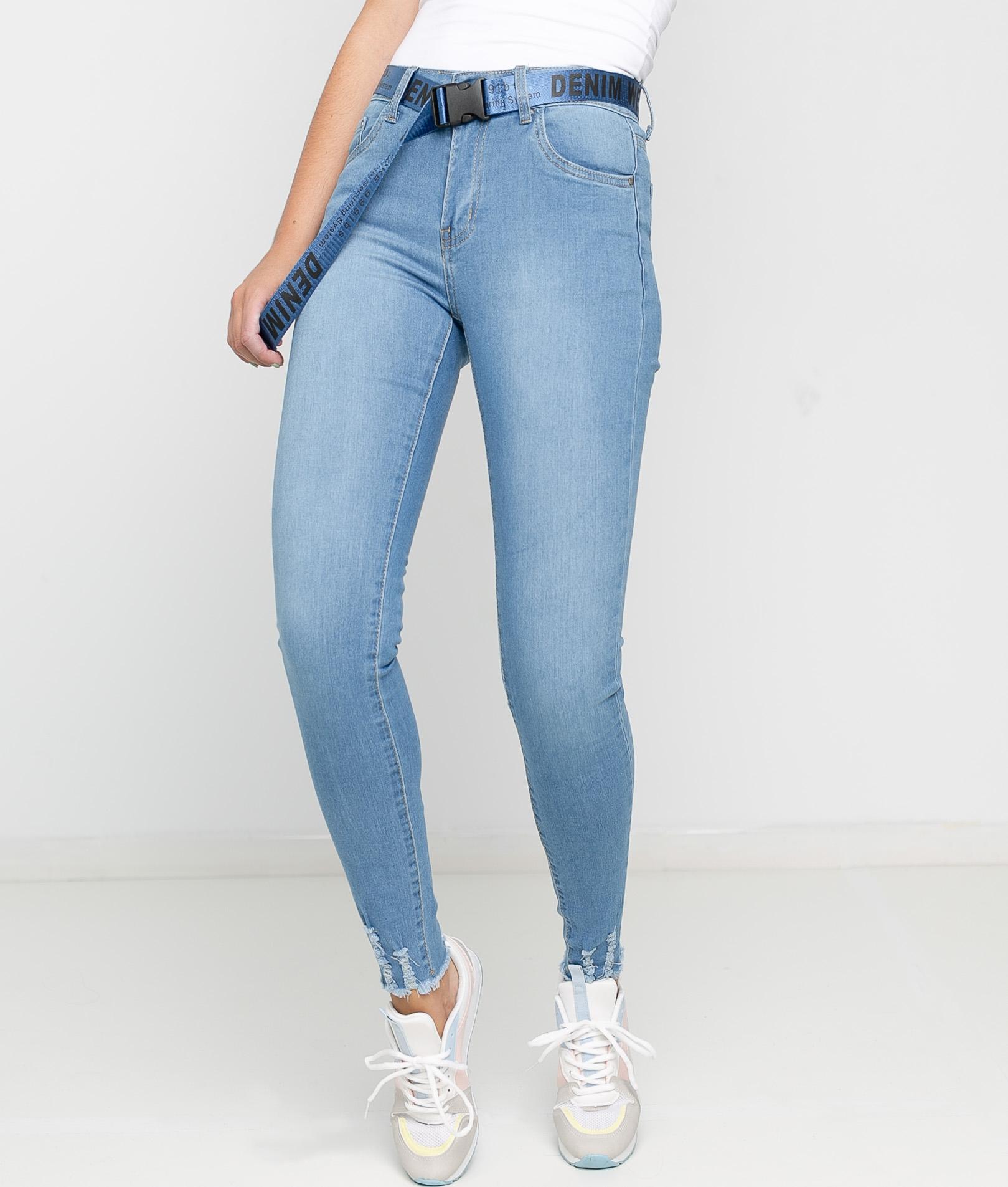 Pantaloni Klean - Denim