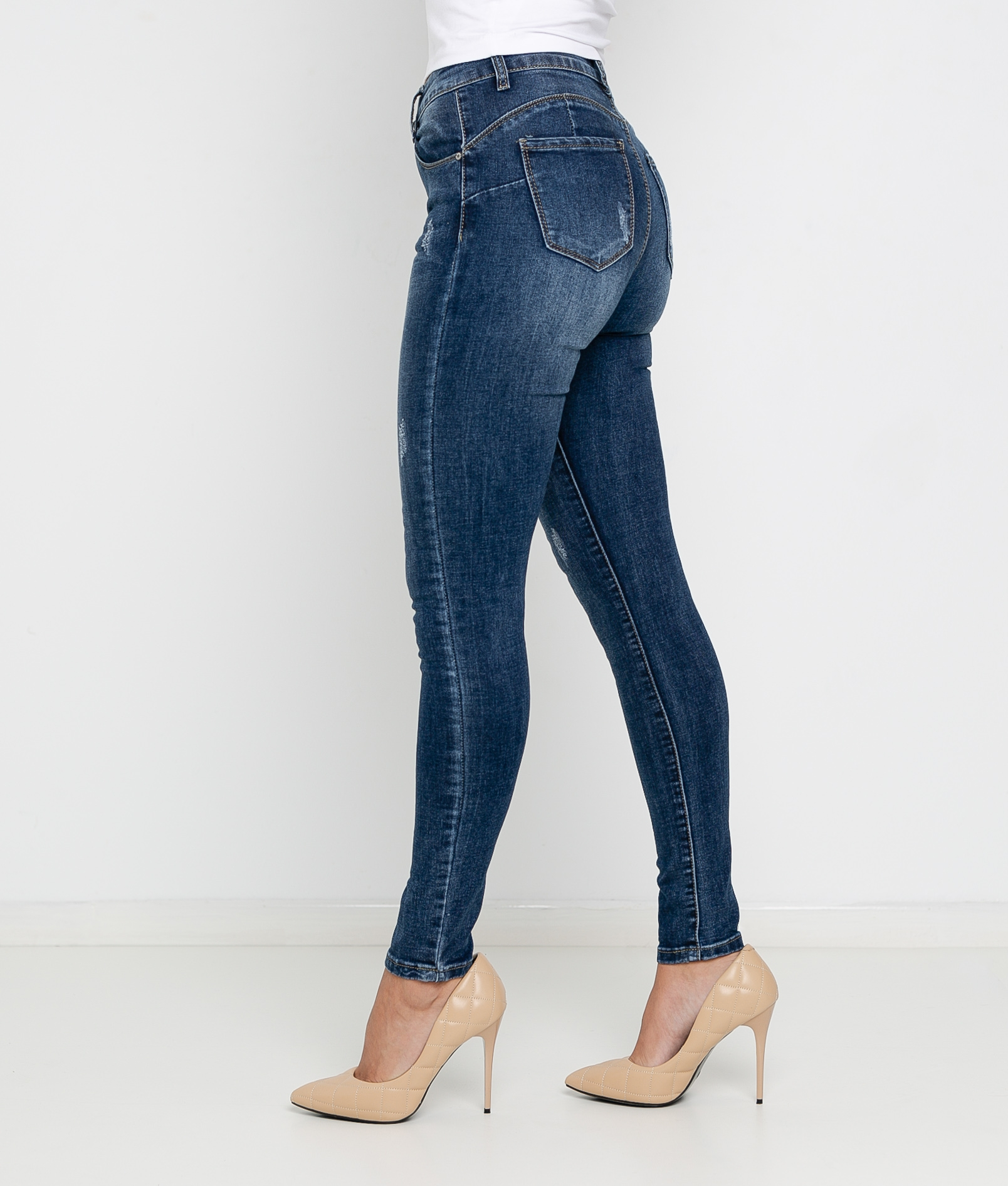 Pantaloni Aloa - Denim scuro