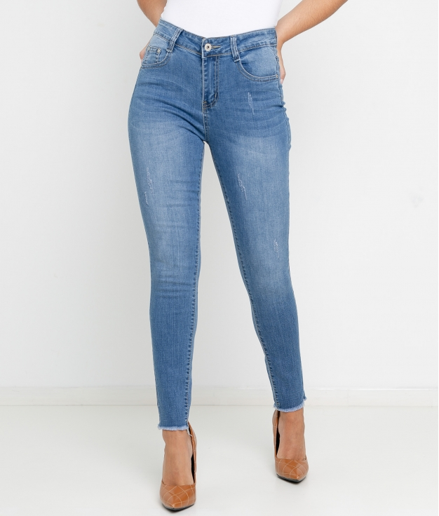 Pantaloni Amerta - Denim Chiaro