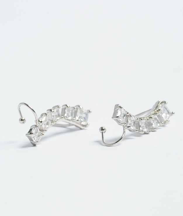 Earrings Galop - Silver