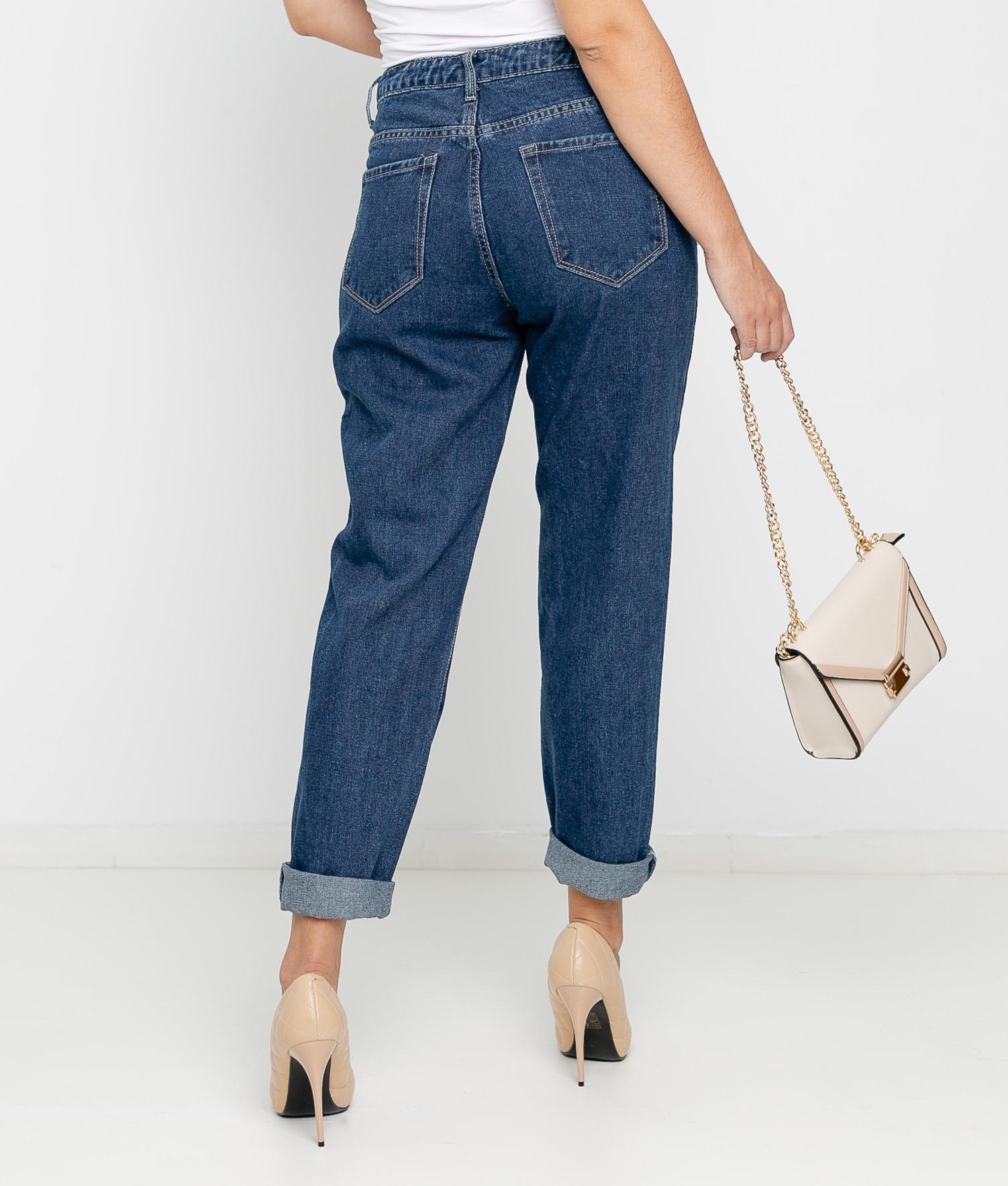 Pantaloni Goria - Denim scuro