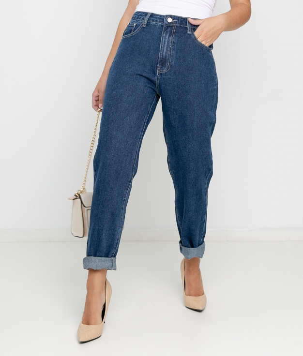 Pantaloni Goria - Denim scuro