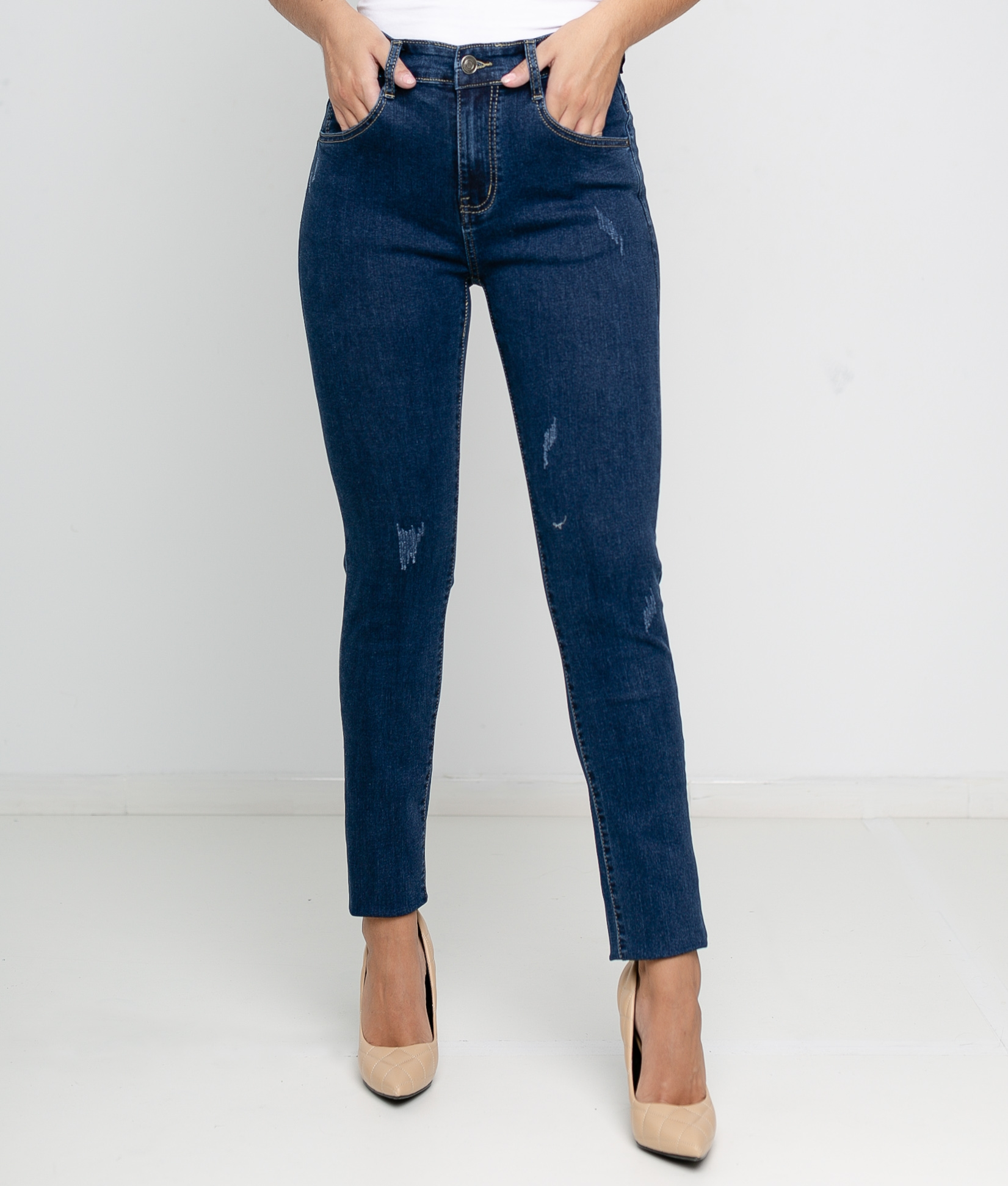 Anoli trousers - Dark denim