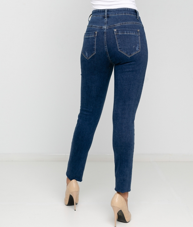 Pantaloni Anoli - Denim scuro