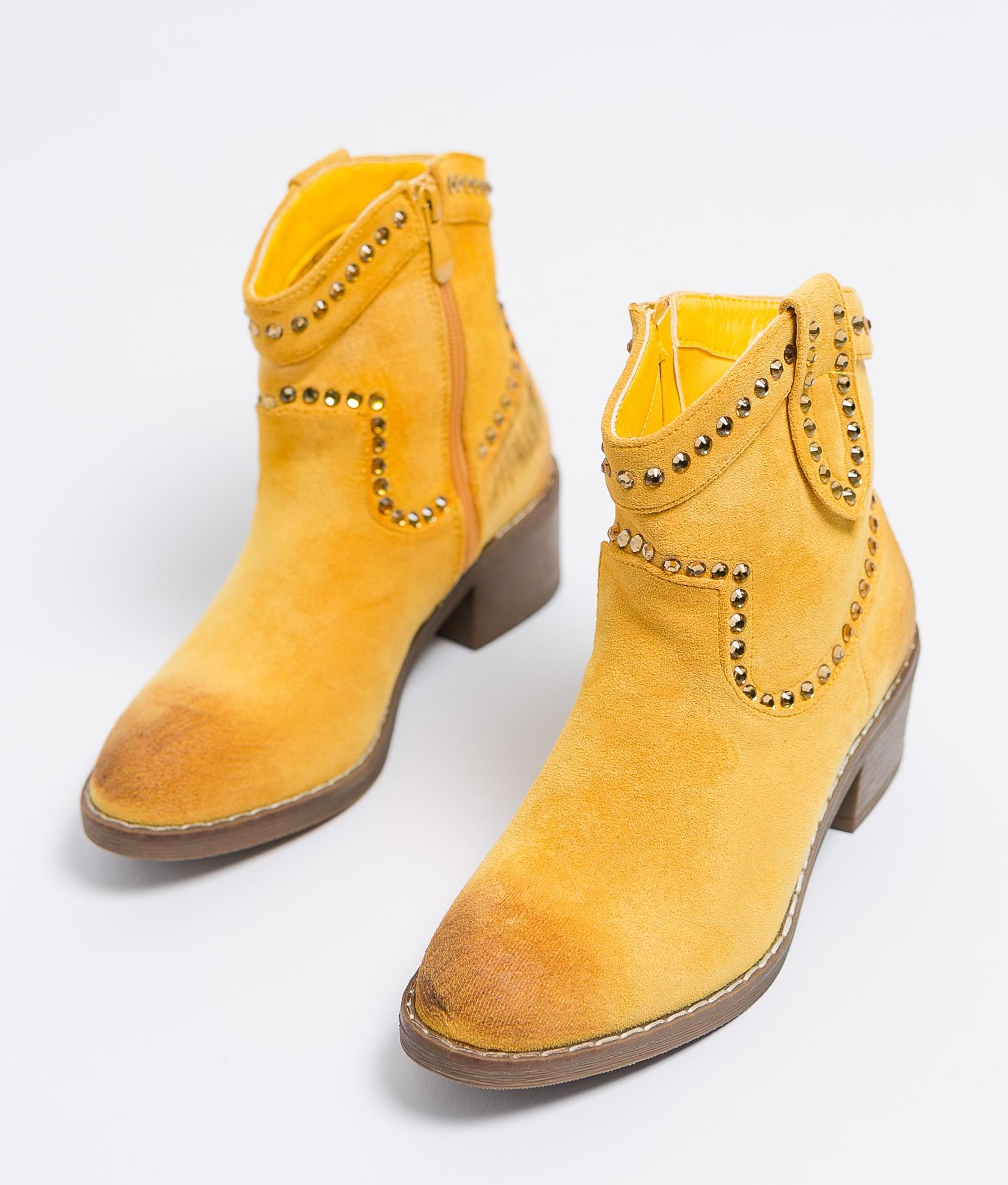 Bota Baja Calia - Amarillo