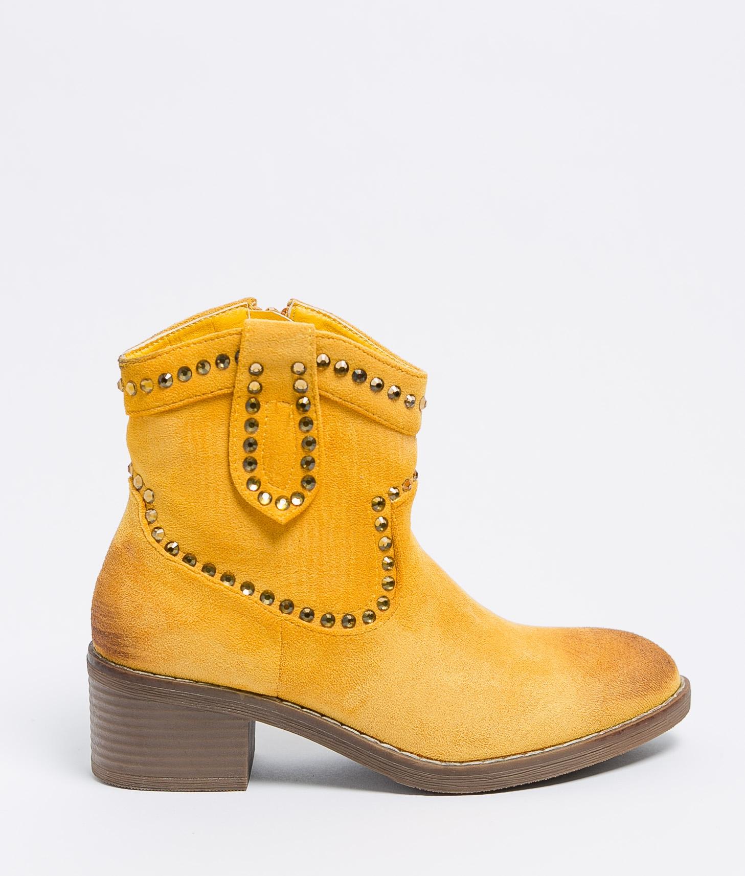 Bota Baixa Calia - Amarelo