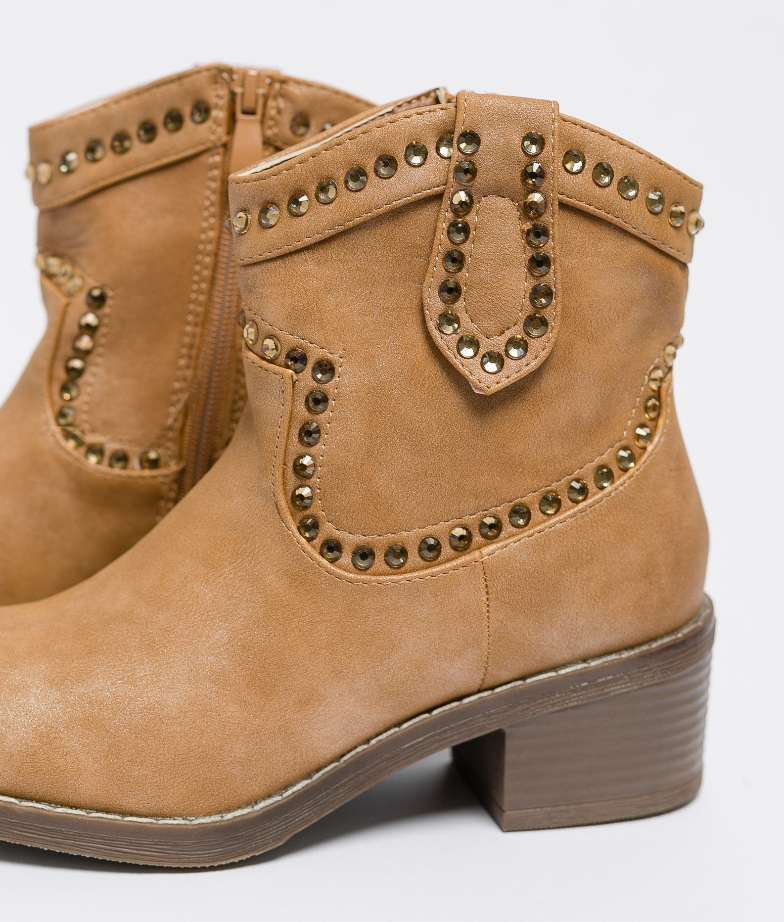 Low Boot Loria - Camel