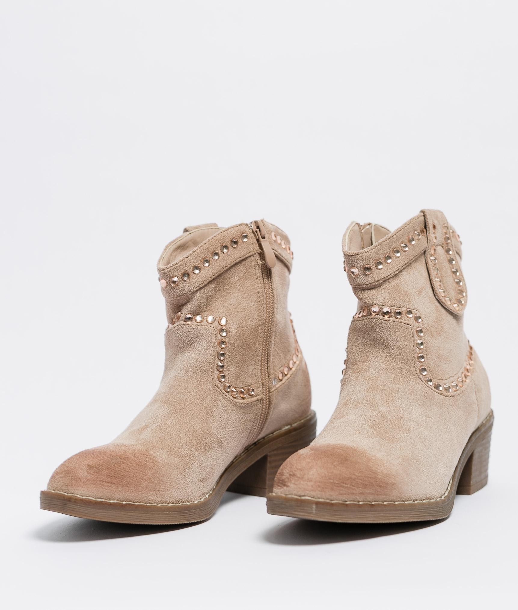Low Boot Loria - Khaki