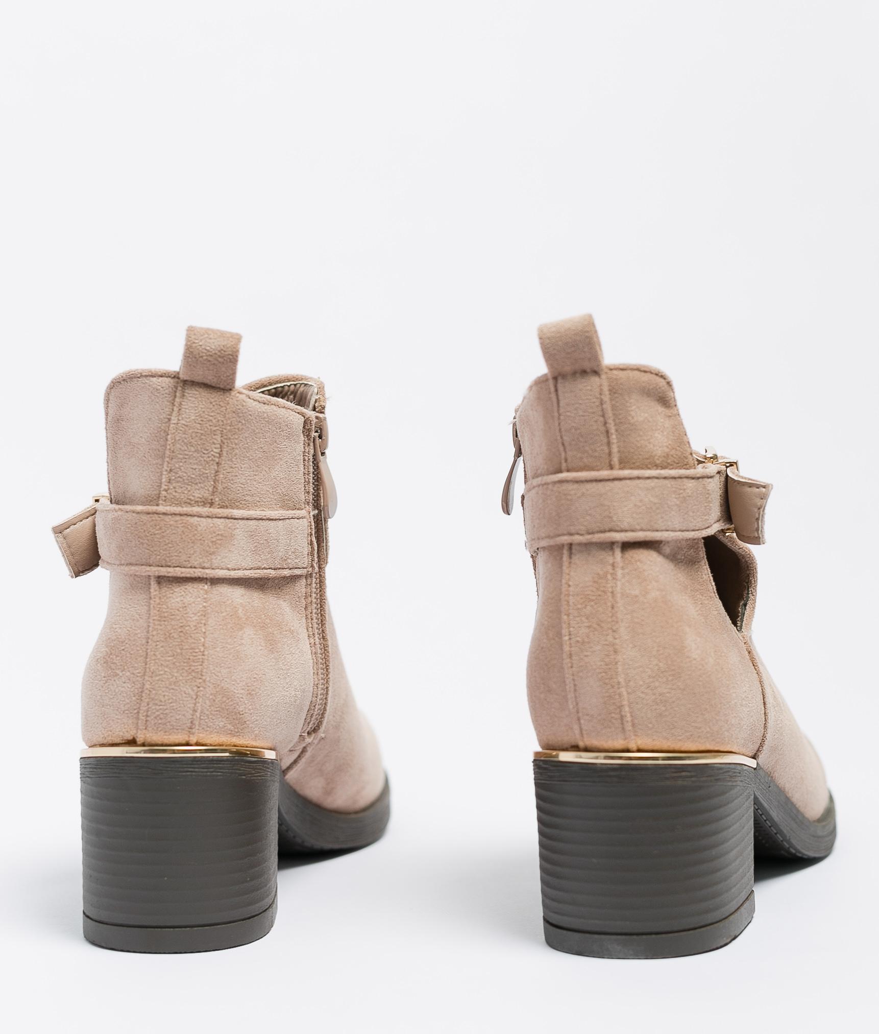 Low Boot Nisa - Khaki