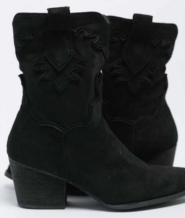 Low Boot Malia - Black Suede