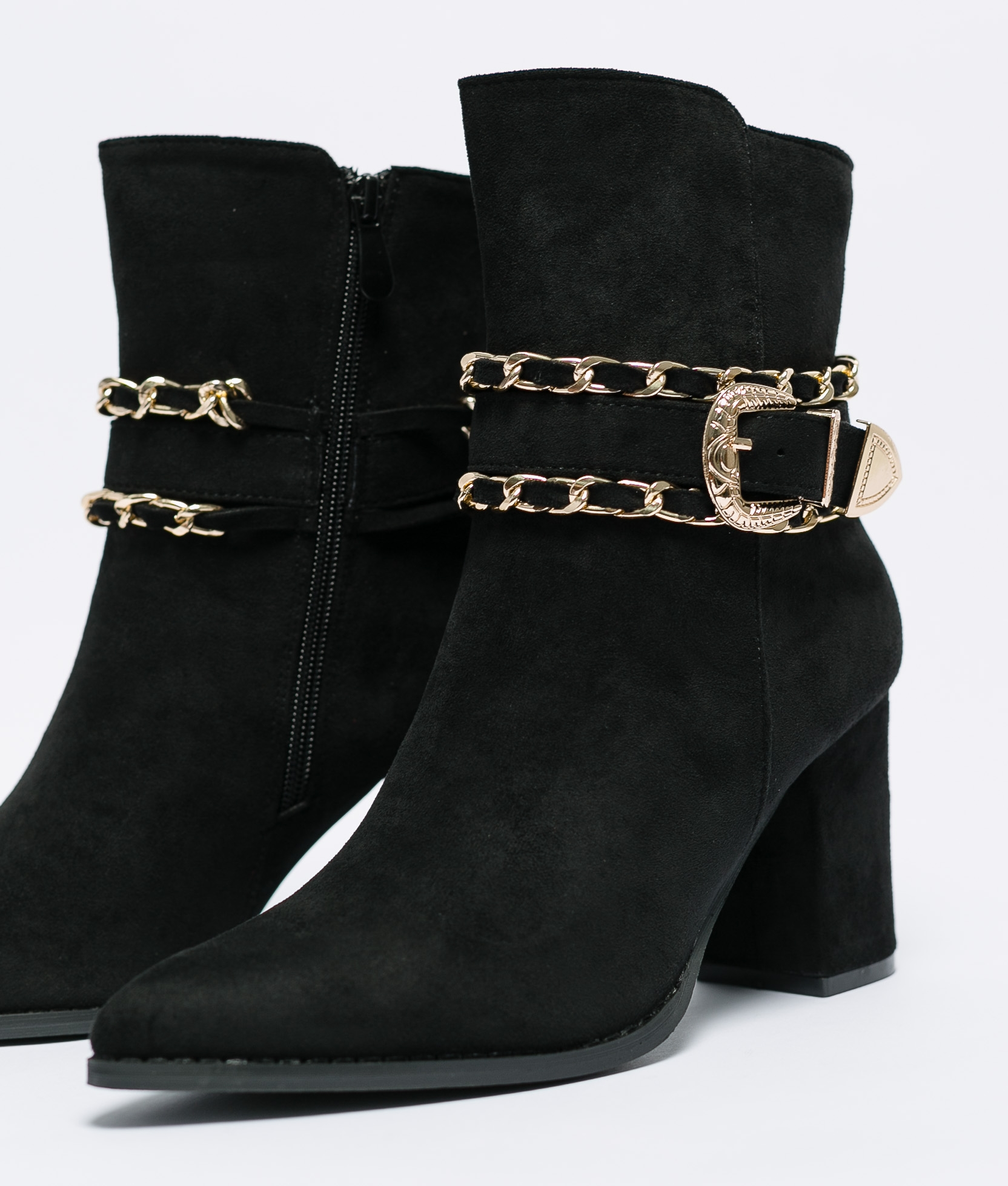 Low Boot Pady - Black