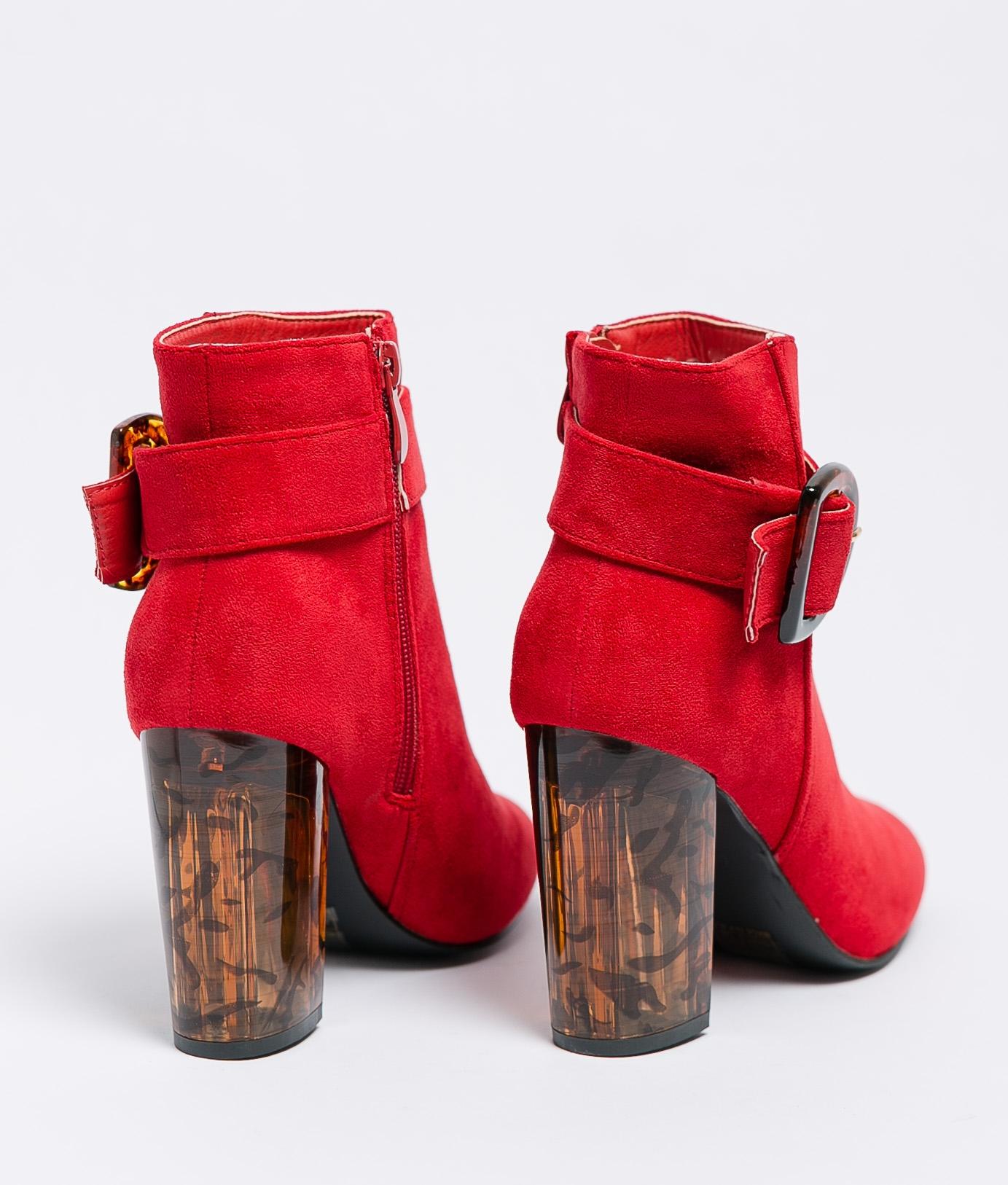 Bota Baja Daire - Rojo