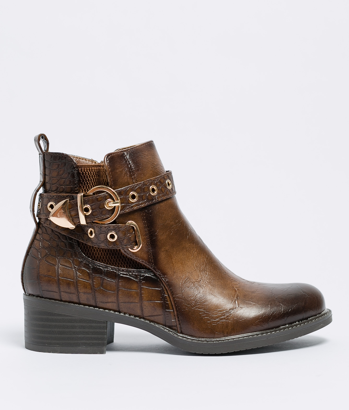 Low Boot Lumia - Brown