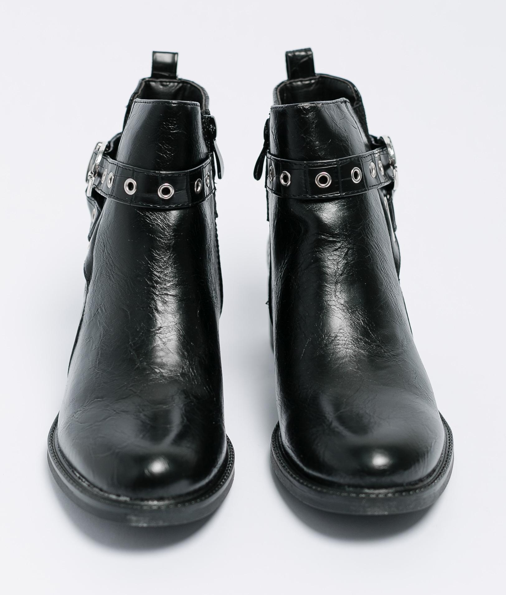 Low Boot Lumia - Black