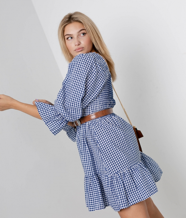 Robe Parta - Blanc/Bleu