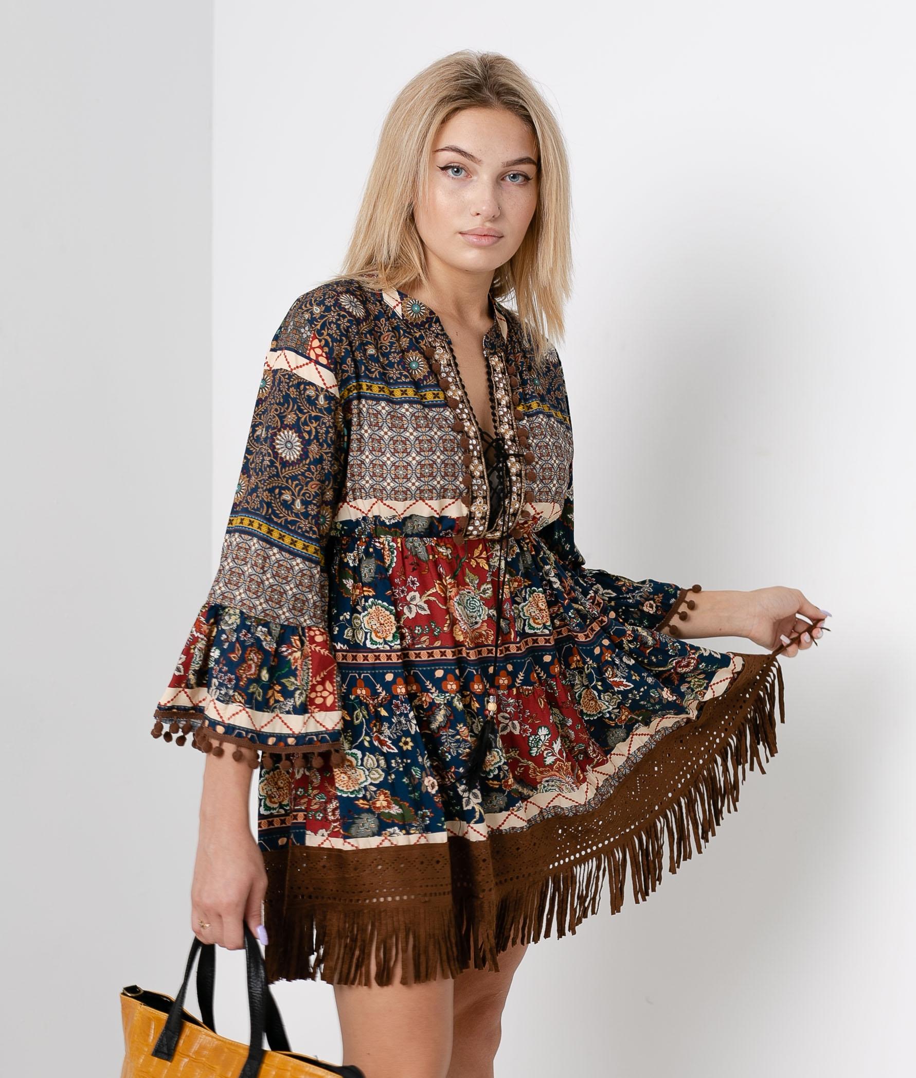 Ecel dress - Brown