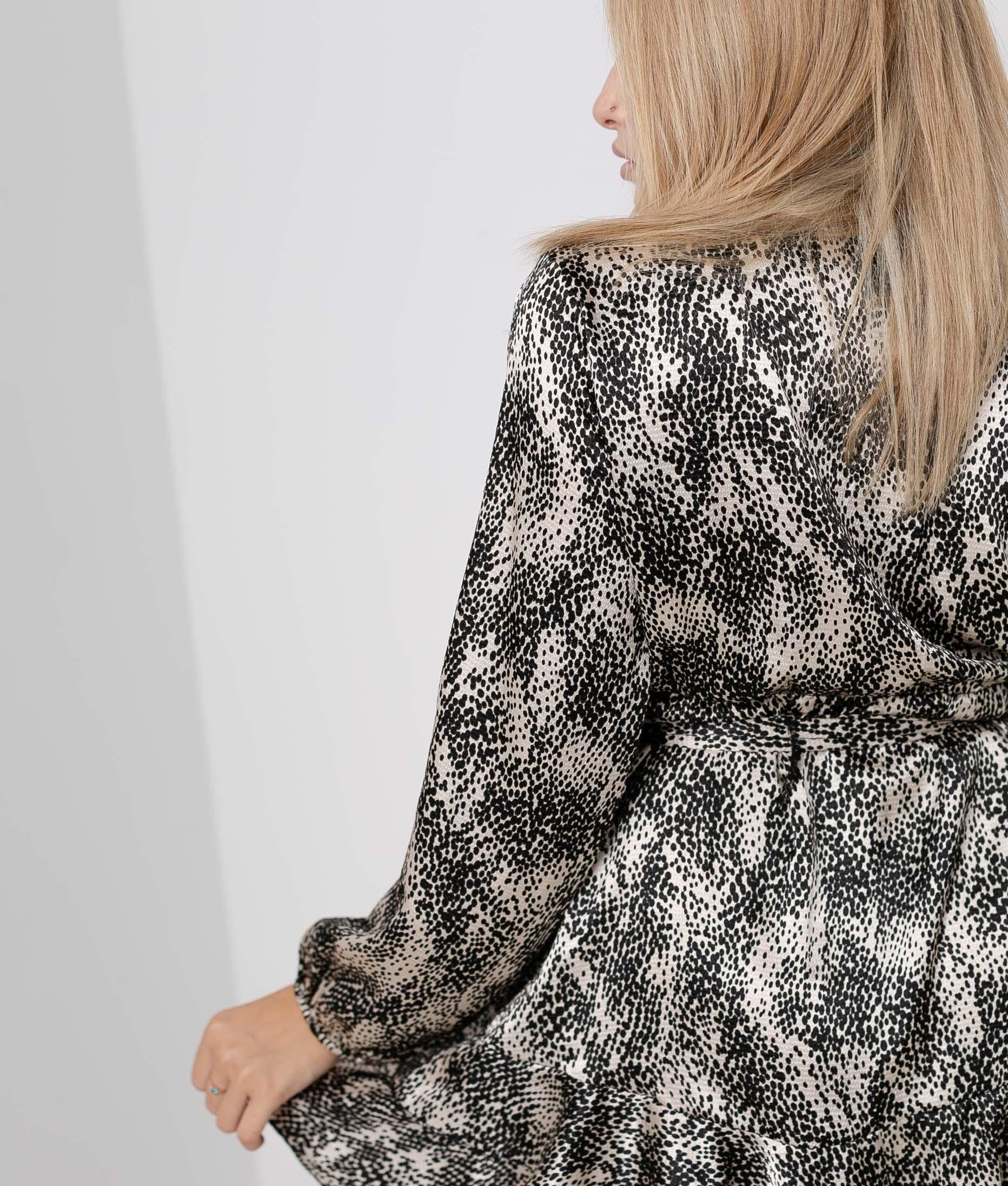 Sirion dress - Beige/Black