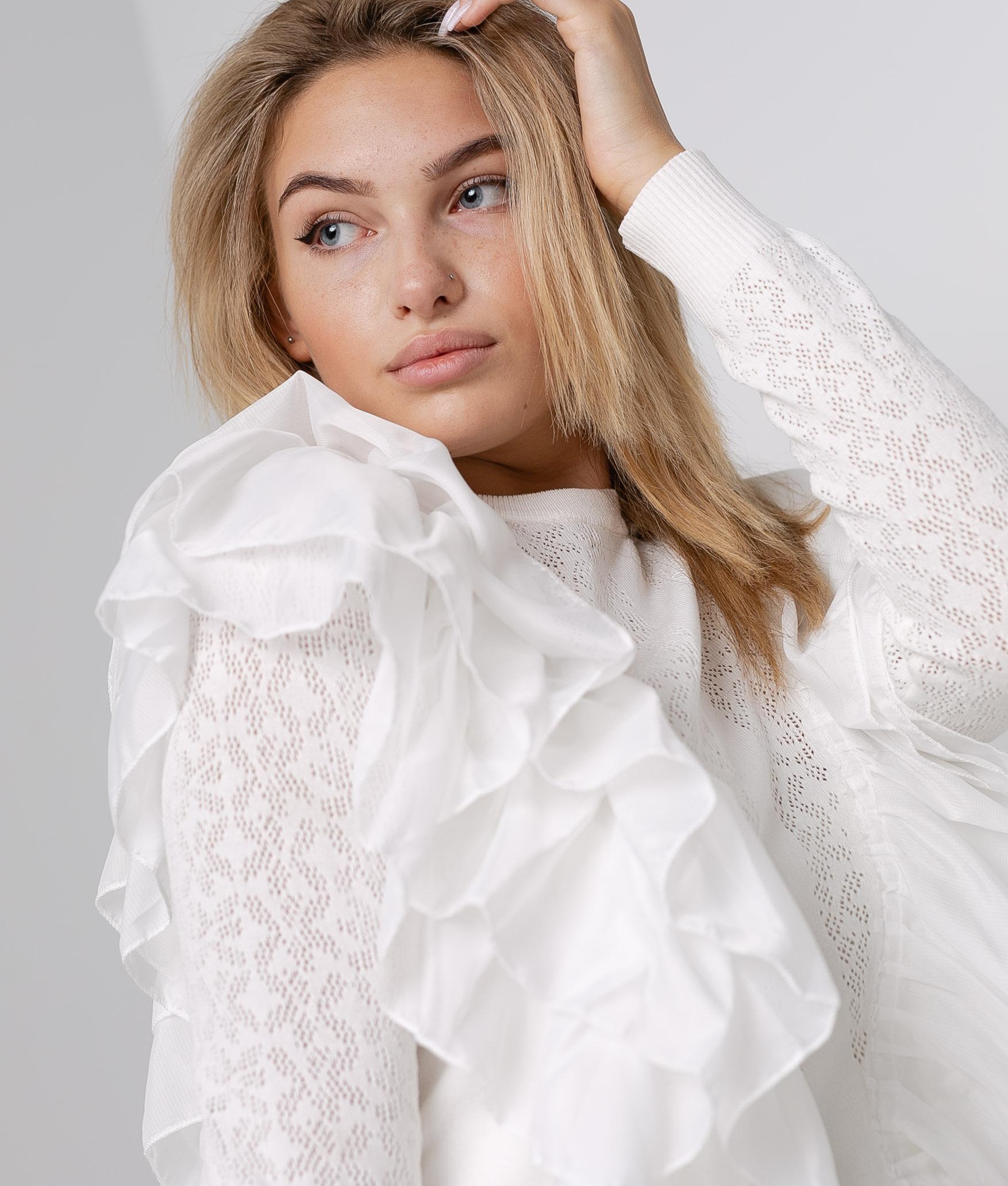 Jersey Luminia - Blanc