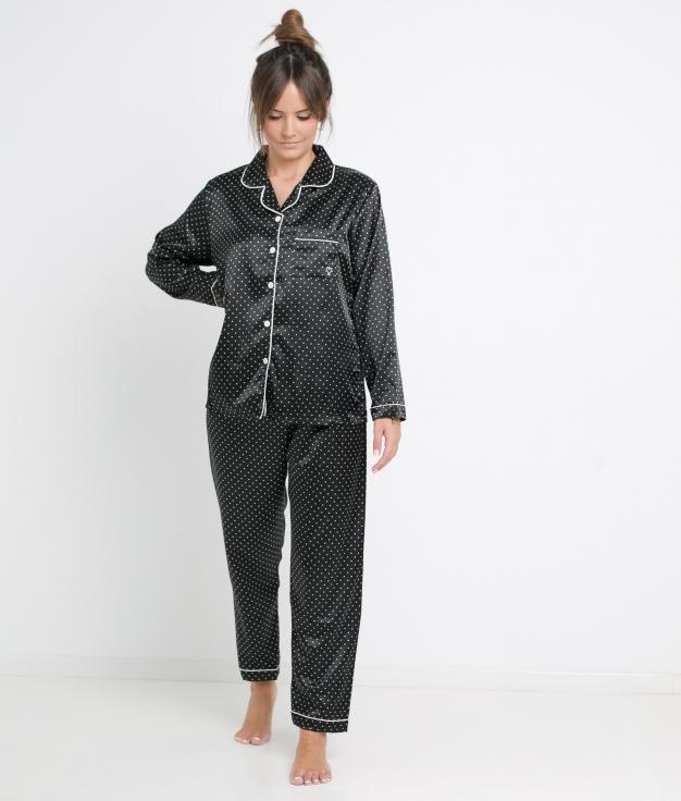 Pijama Beodo - Preto