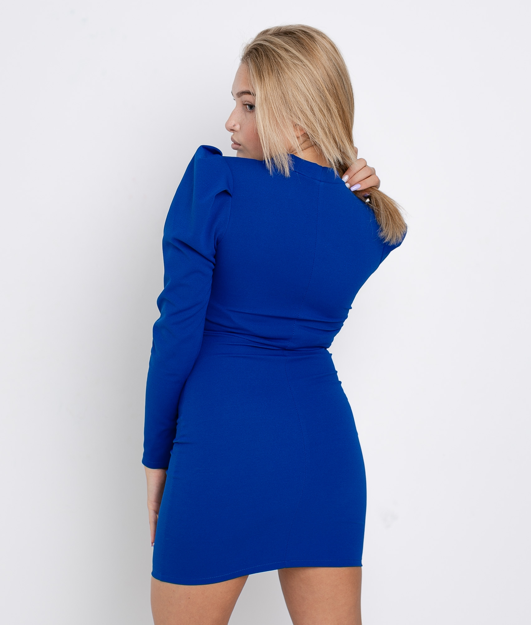 FICTION DRESS - BLUE
