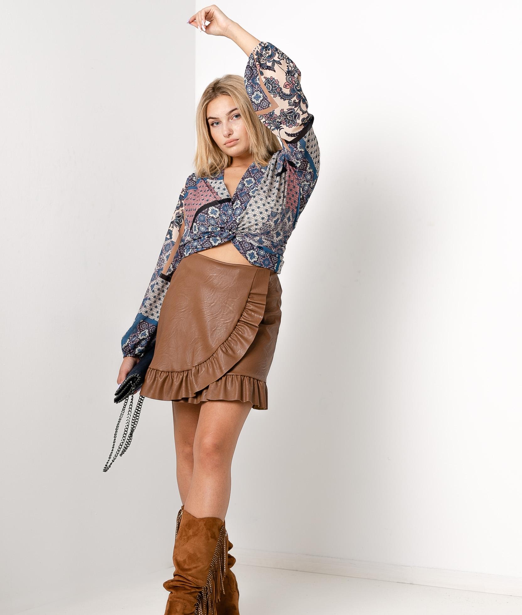 Skirt Barea - Camel