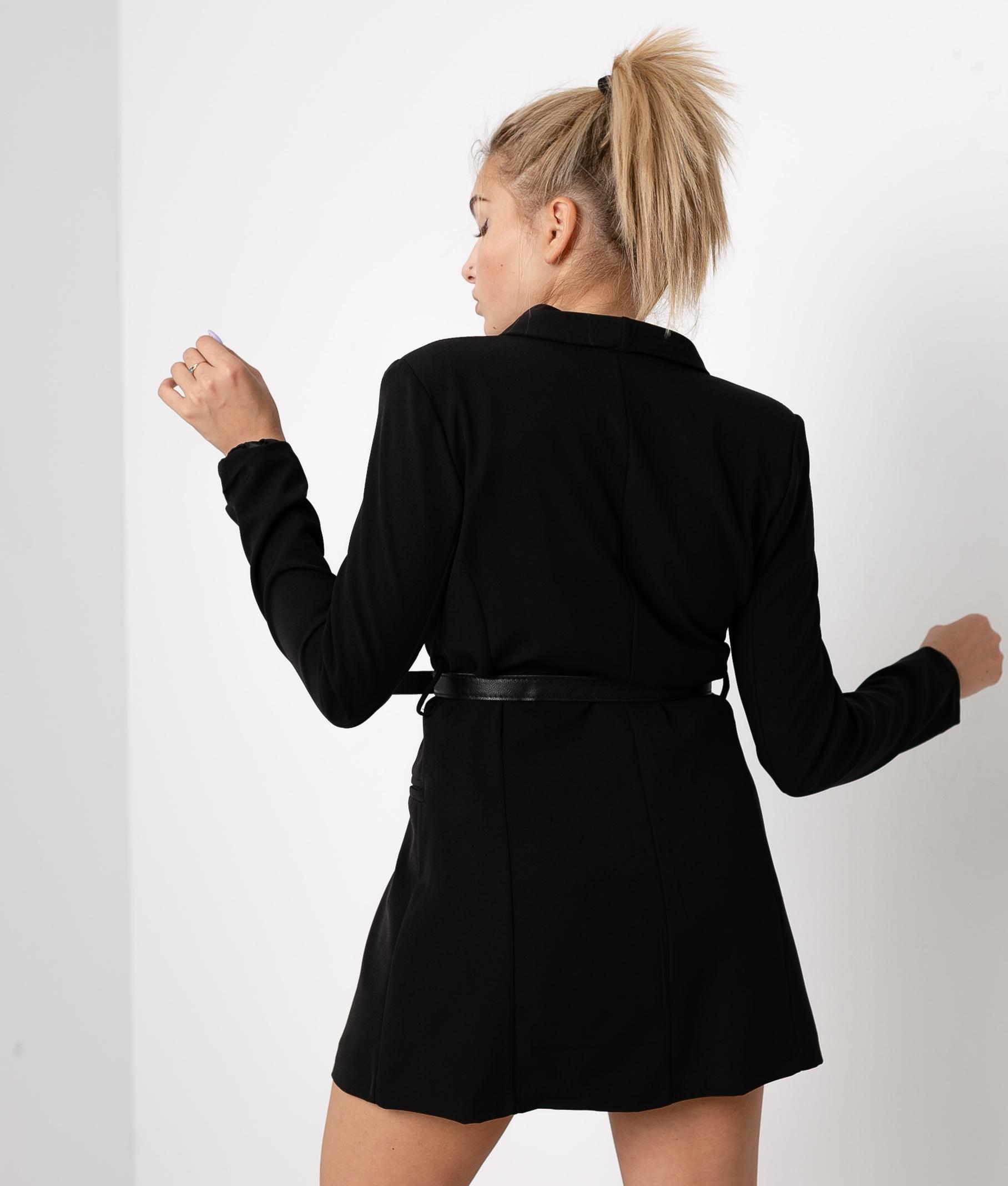 DRESS KUSINA - BLACK