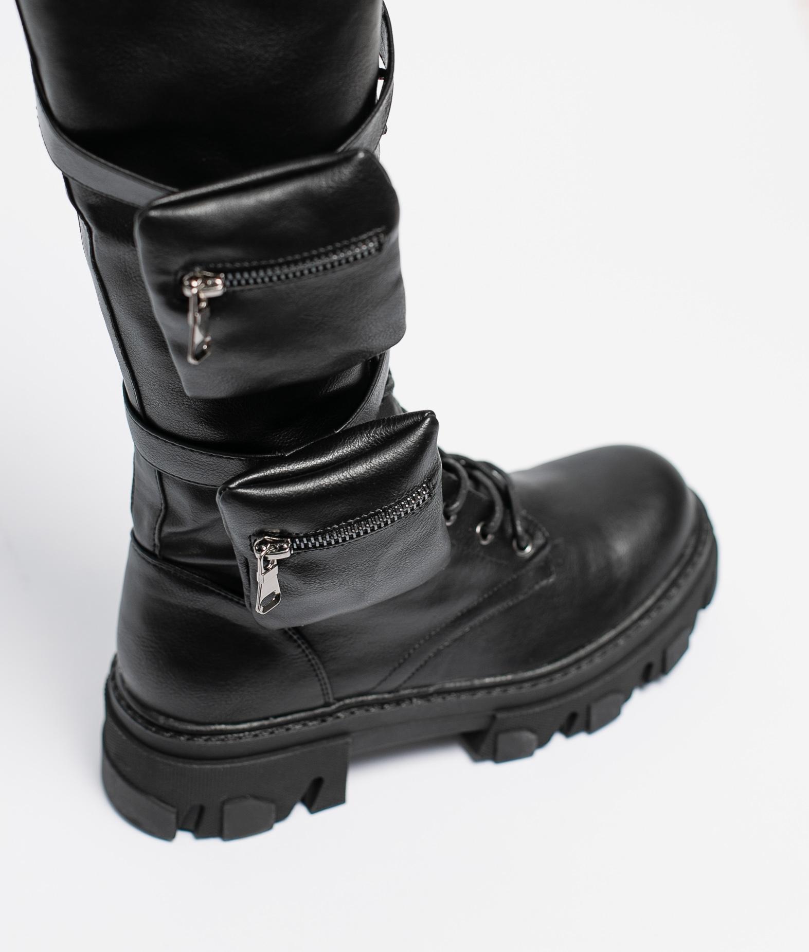 Knee-Length Boot Croft - Black