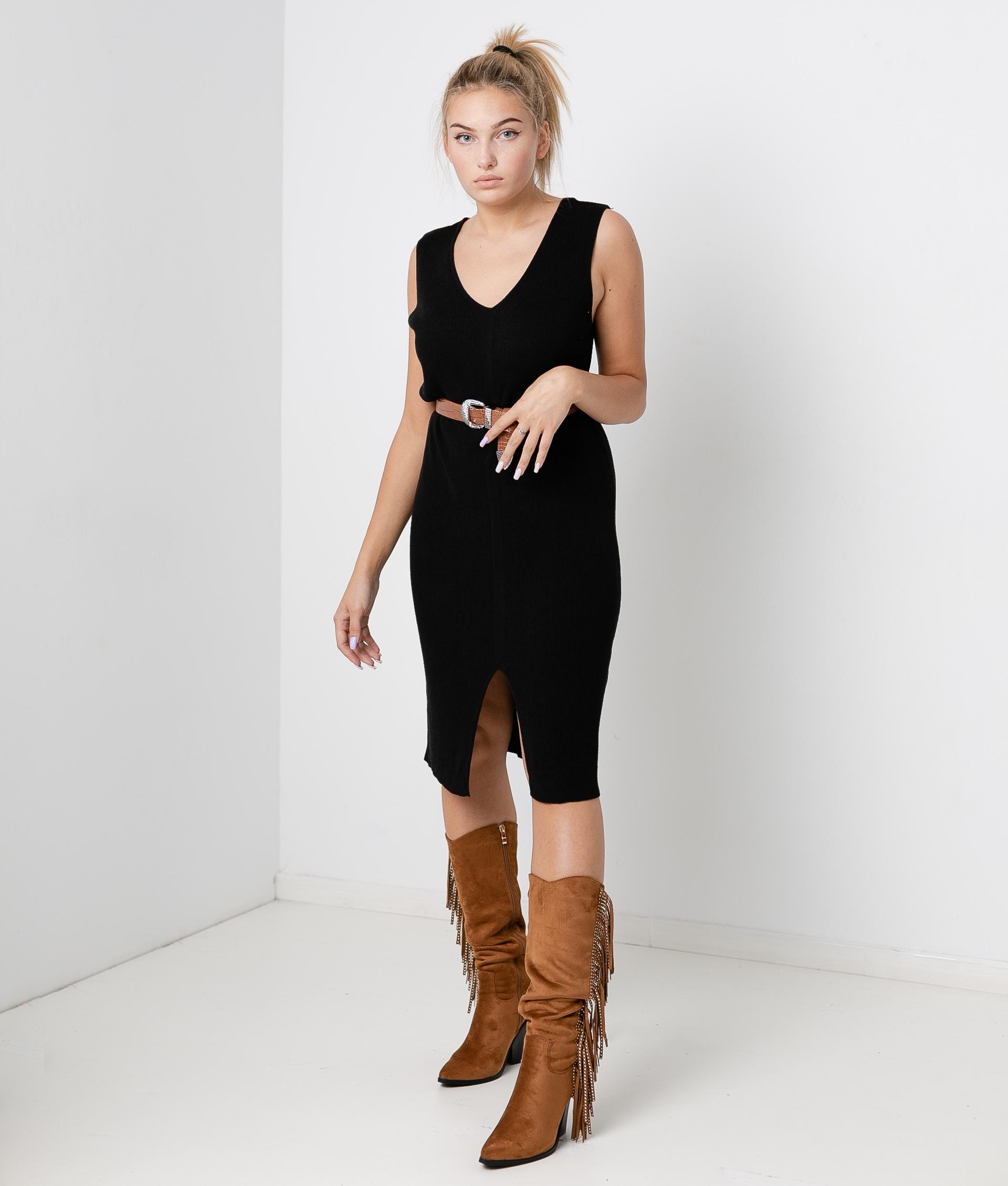 Vestido Porfido - Negro