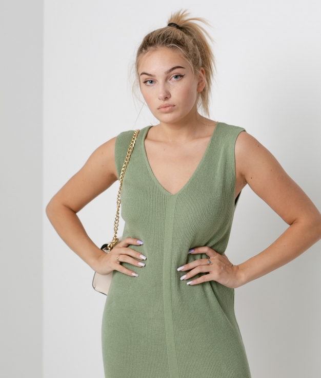 Vestido Porfido - Verde