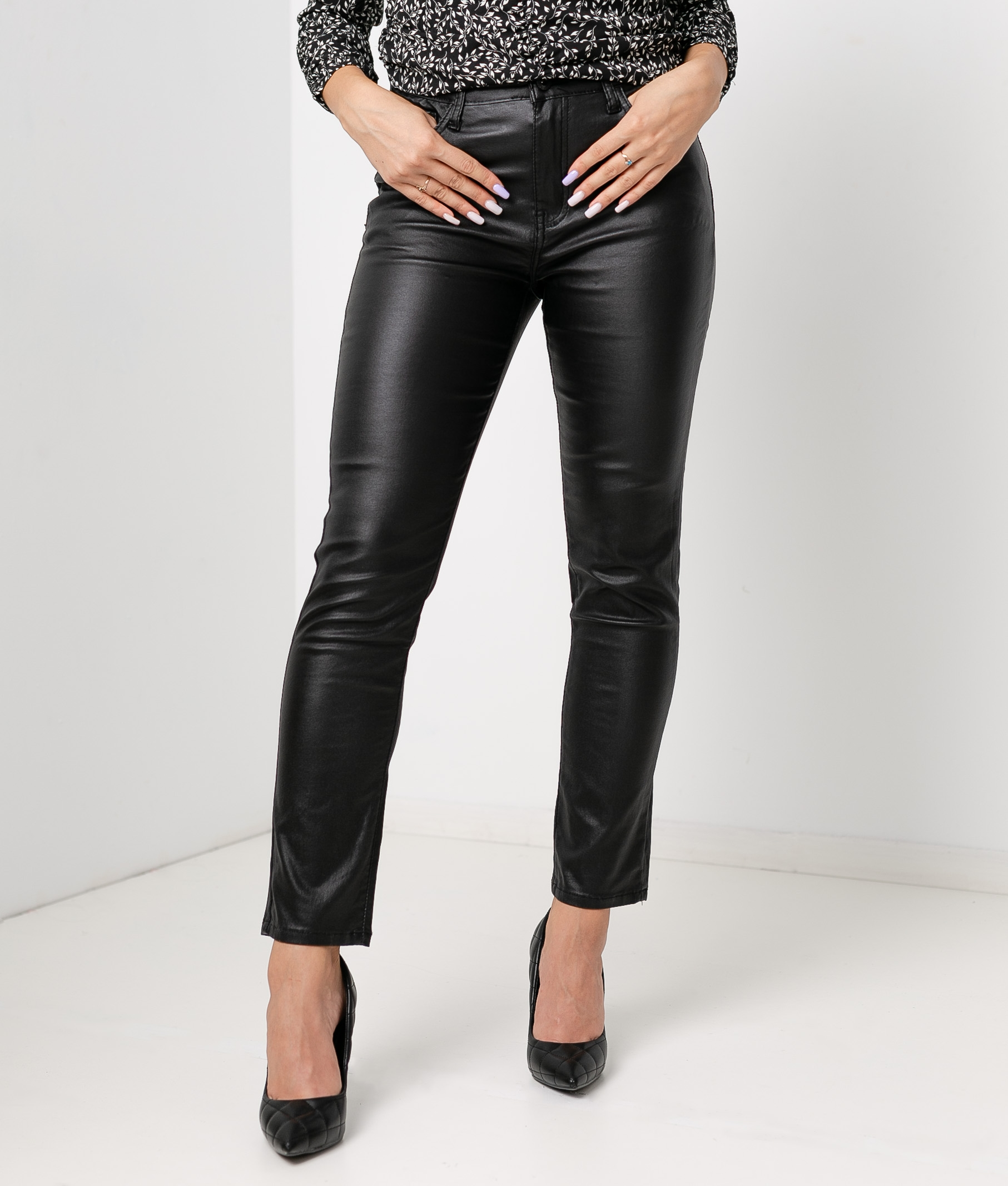 NOET TROUSERS - BLACK