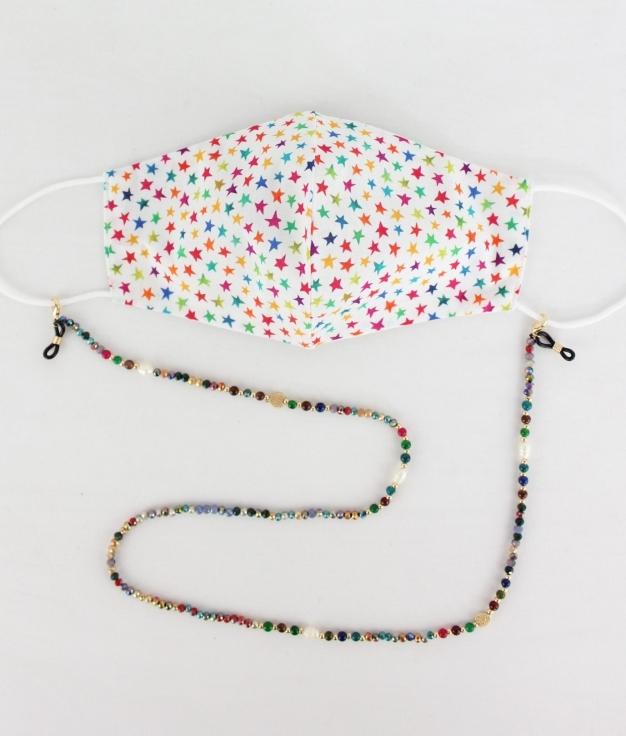 Mask Pendant Yoyo - Multicolour AK