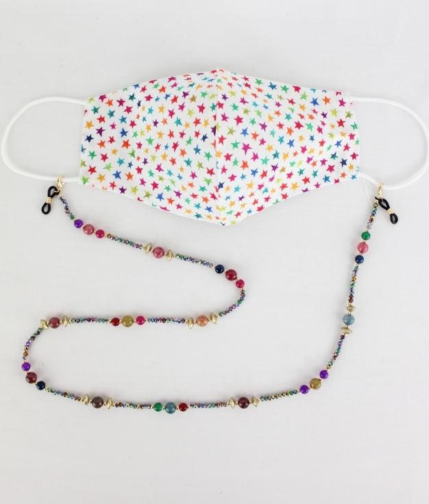 Mask Pendant Yoyo - Multicolour AN