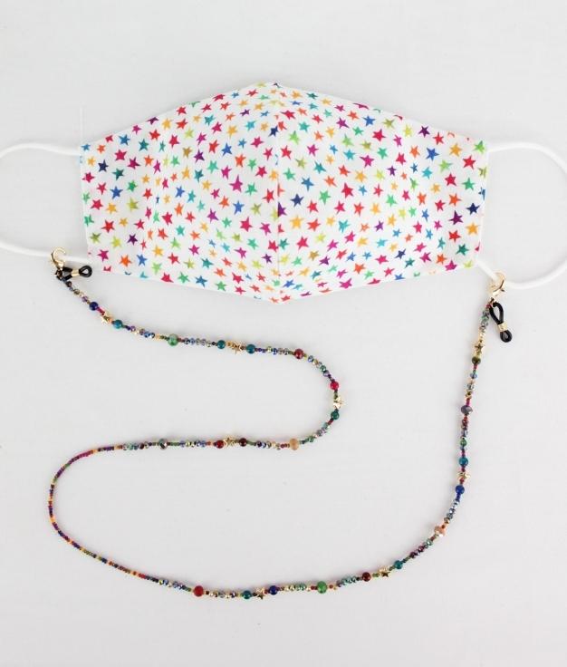 Mask Pendant Yoyo - Multicolour AQ