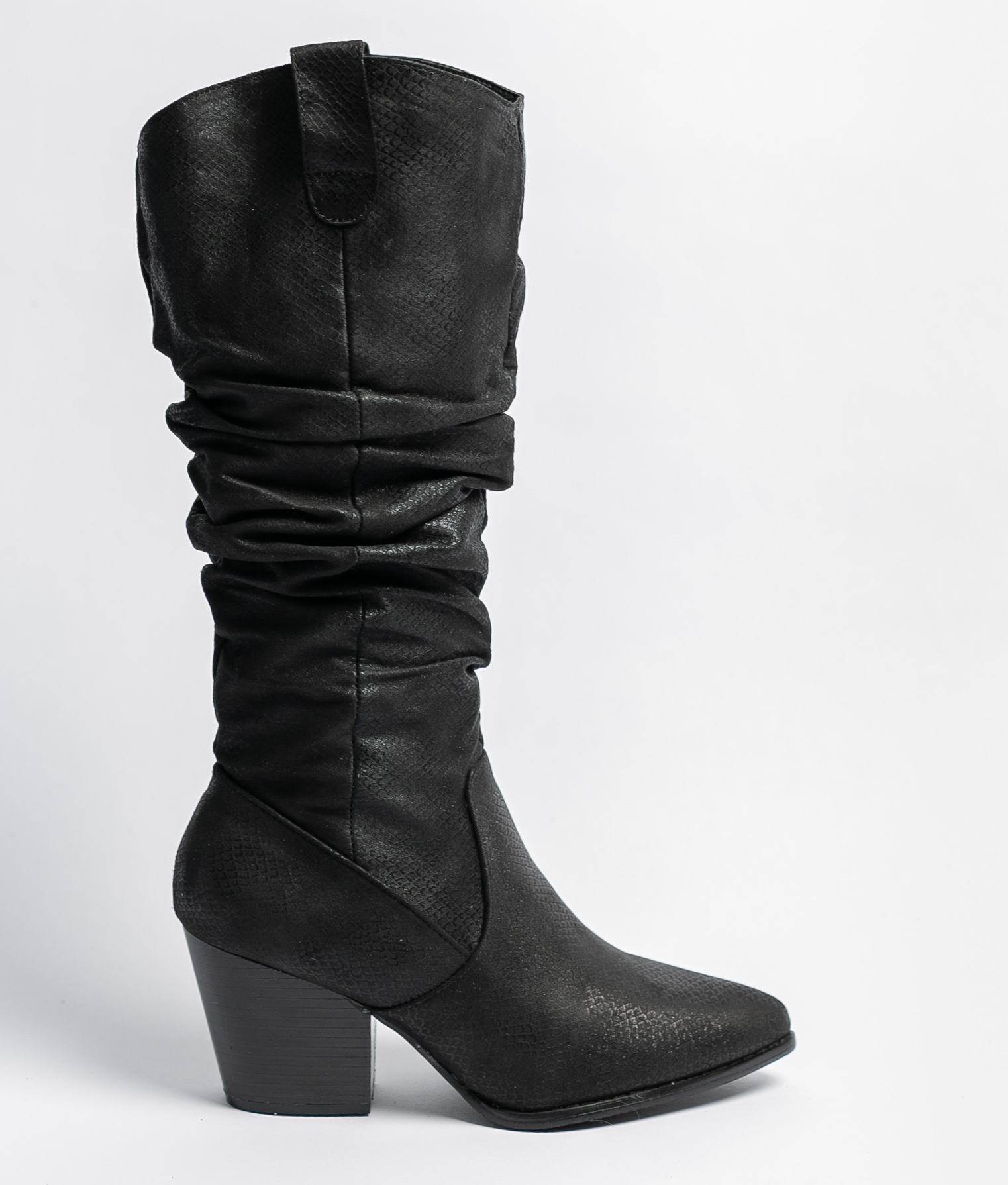 Knee-Length Boot Linda - Black