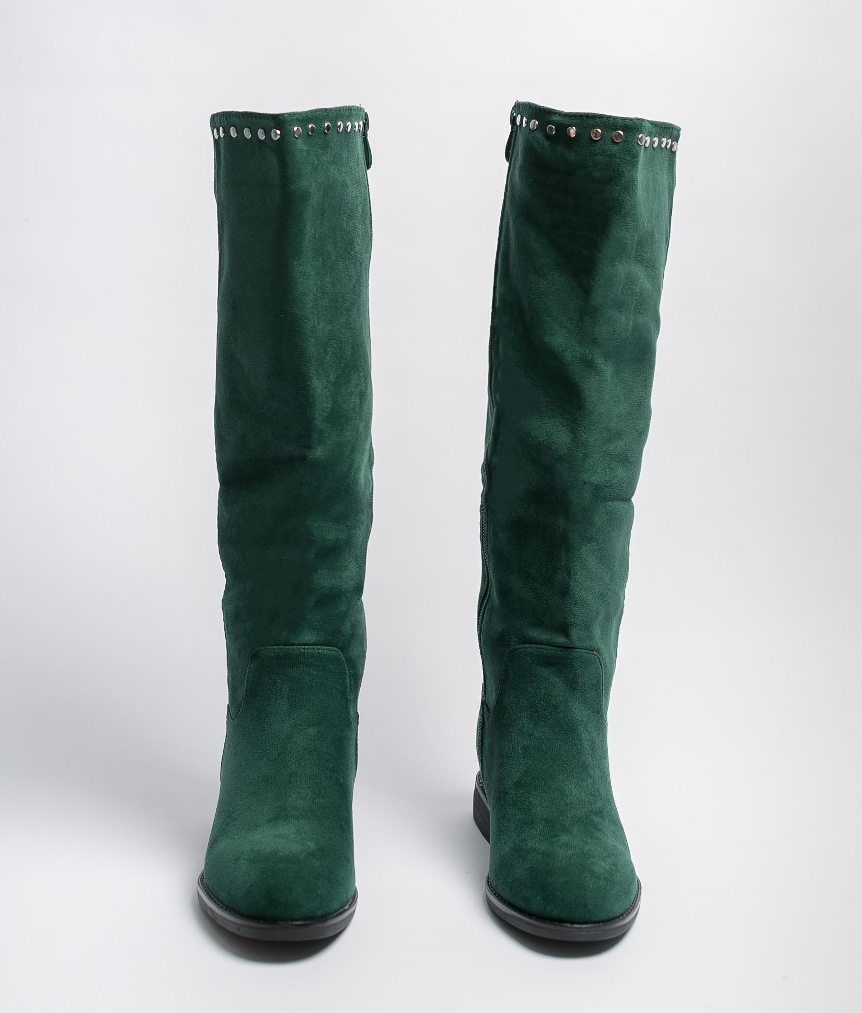 Bota Alta Kady - Verde