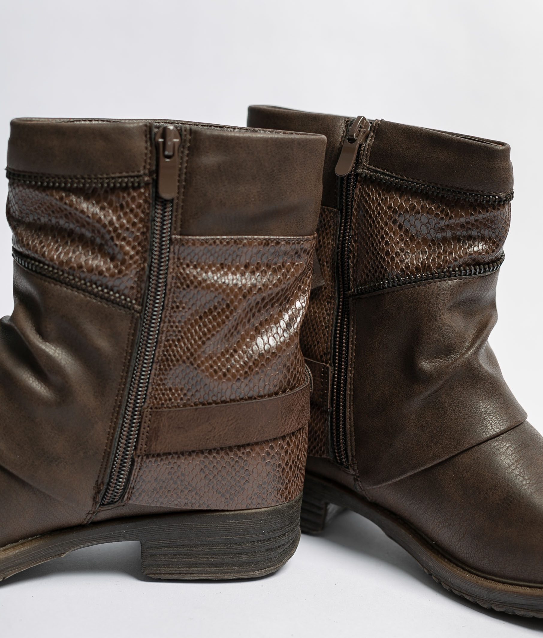 Low Boot Coria - Brown