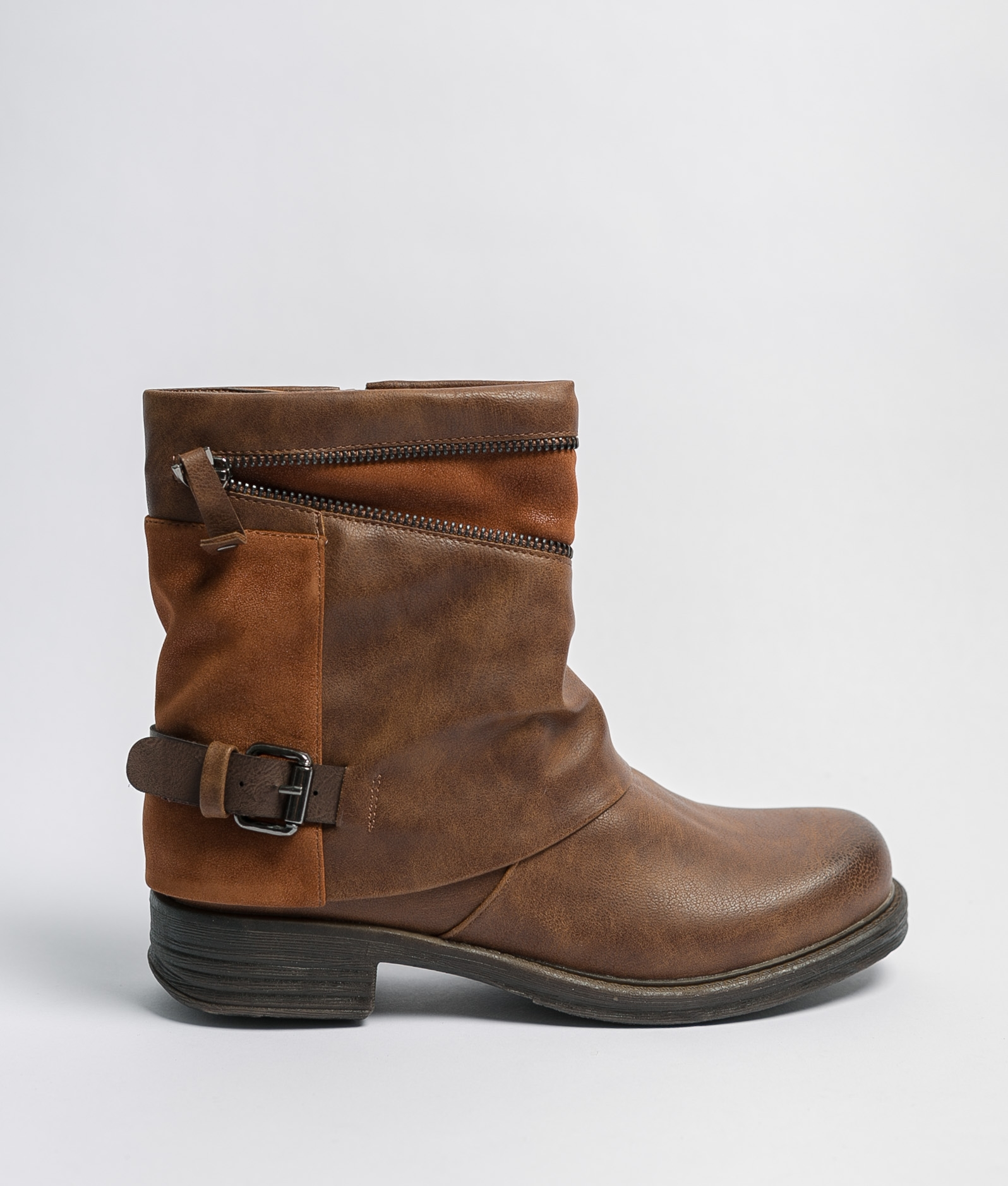 Low Boot Coria - Camel