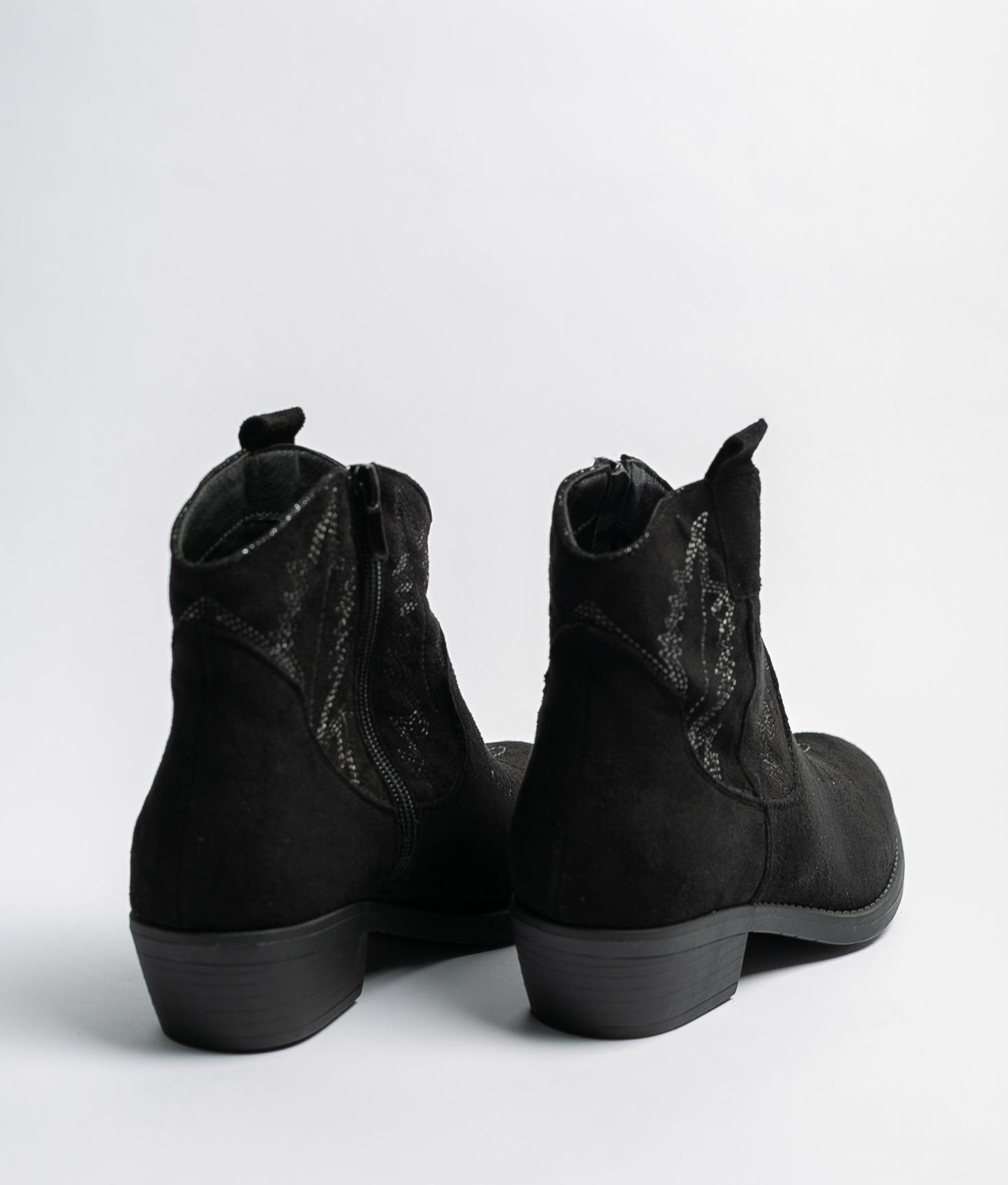 Bota Baja Rimal - Negro