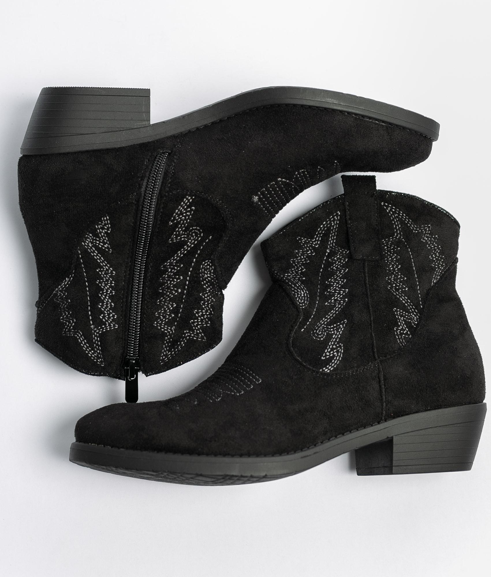Low Boot Rimal - Black