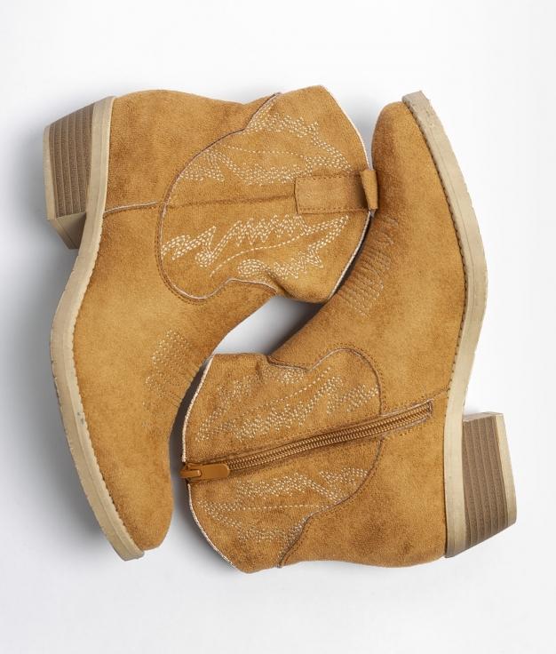 Low Boot Rimal - Camel