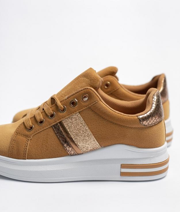 Sneakers Devino - Cammello
