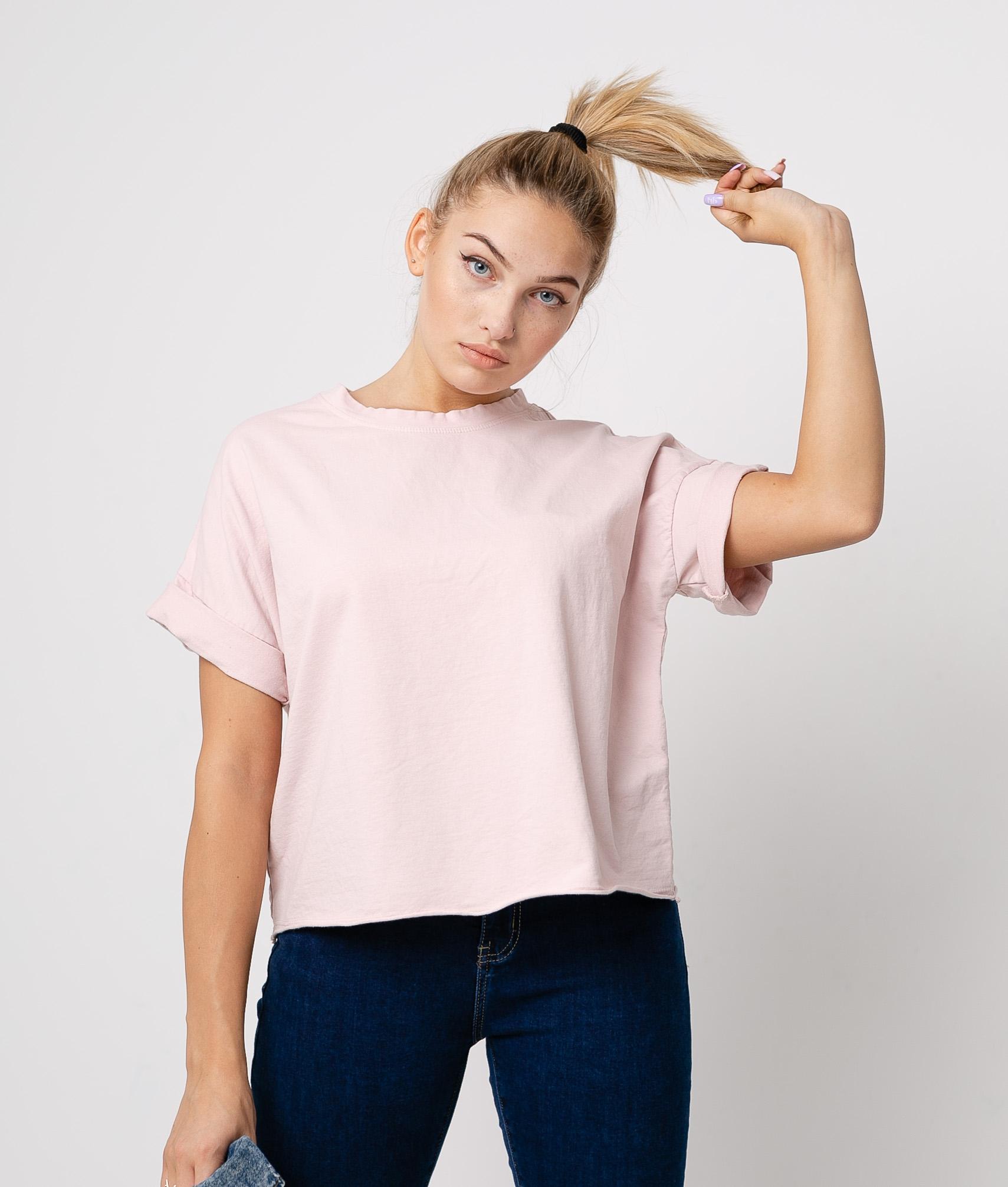 Camiseta Jere - Rosa chiaro