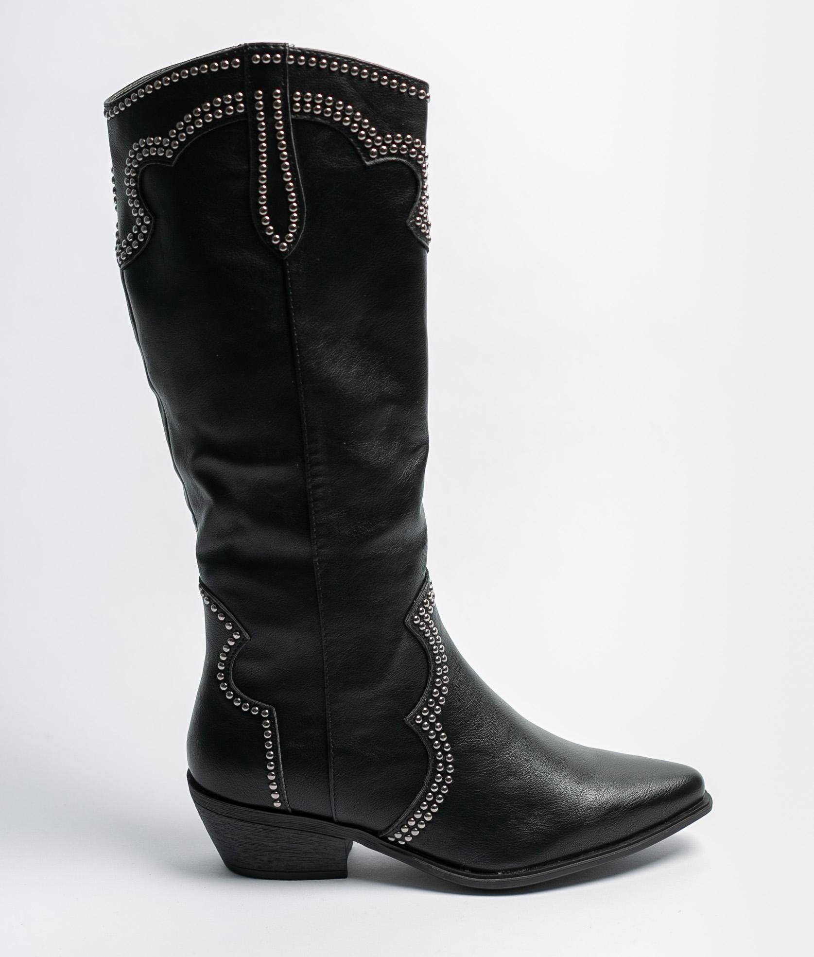 Knee-Lenght Boot Melira - Black