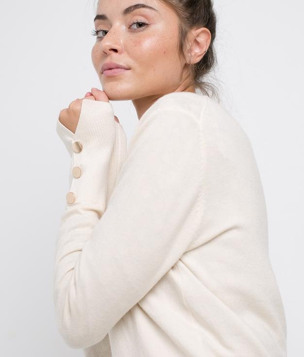 MAGLIA KALINA - BEIGE