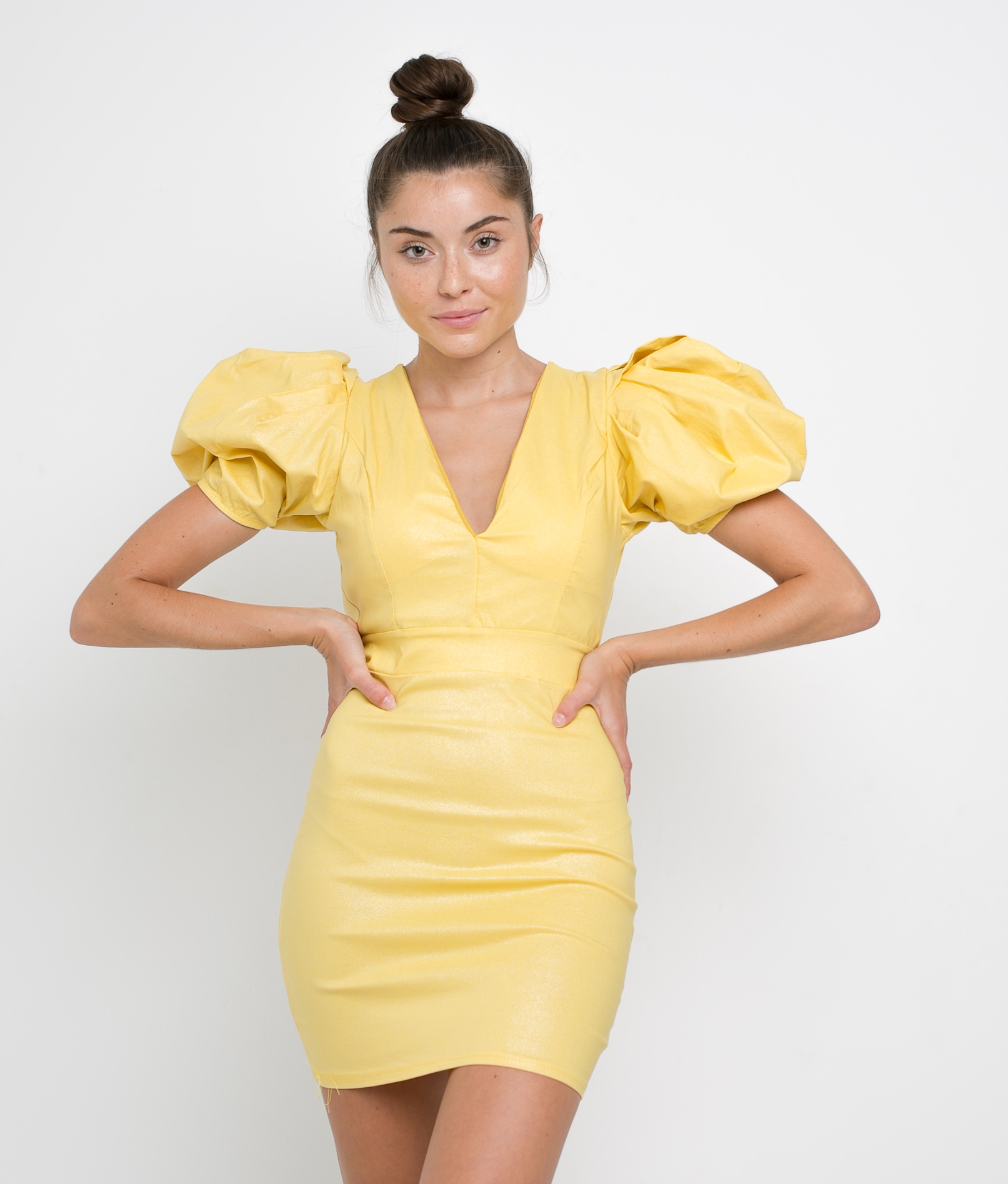DRESS YELA - YELLOW