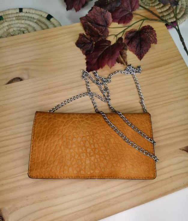 Cartera Felicia - moutarde
