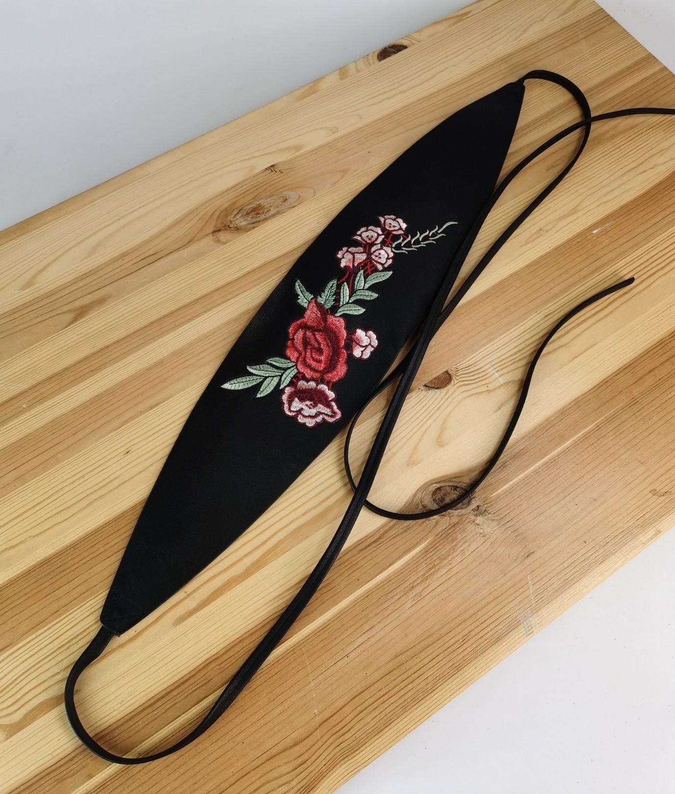 Ceinture Rosa - noir