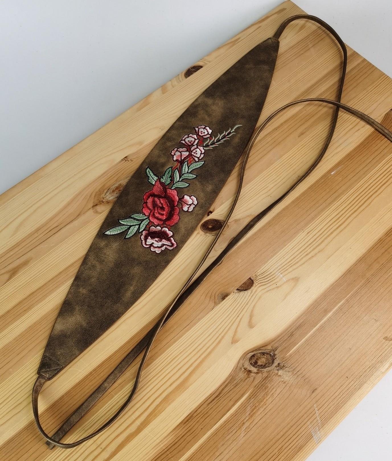 Cinturón Rosa - oro viejo